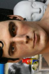 CHRISTOPHER REEVE SCULPTURE by BobbyC1225