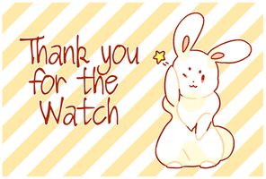 Thank You For The Watch by hanamasu