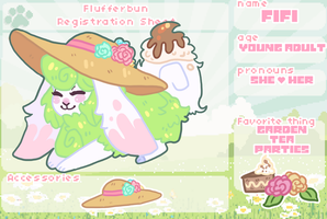 Flufferbun Registration: Fifi by Ayveena