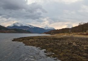 The shore of Loch Awe by BusterBrownBB