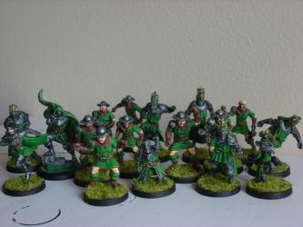 Bretonnian Blood Bowl Team by Shakalooloo