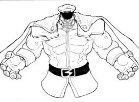 M. Bison, master of Shadowloo by Marvin000