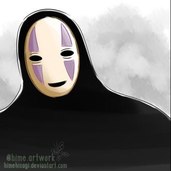 Kaonashi or No Face by himehisagi