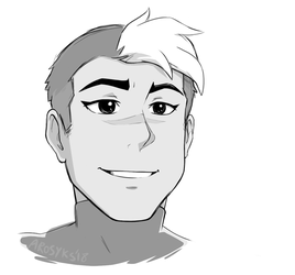 Shiro sketch by arosyks