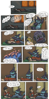 TDA Sparring Event PG 1 by KelpGull