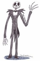 Jack Skellington by XenoTeeth3