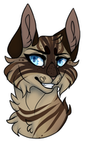 Commission| Rowanstar Headshot | Sapsterz (2/2) by TeapocaIypse