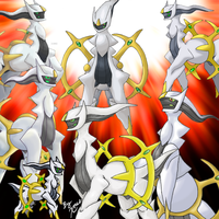 Arceus: All Together by Xous54