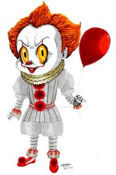 Chibi Pennywise! :3 by ShannonxNaruto
