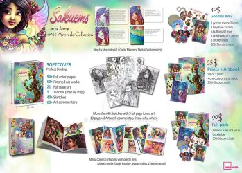 Artbook Collection Campaign ! by Sakuems