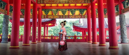 Tang Dynasty Woman closer look by seawaterwitch