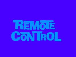 Remote Control Logo by mrentertainment