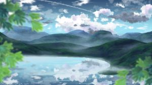 mountains 2 version by chwee