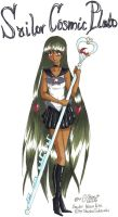 Sailor Cosmic Pluto :New: by GorgeousPixie