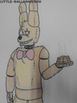 (Traditional) Pancake Satan by Little-Balloonicorn