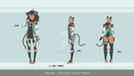 Adoptable Auction - Cat Unit Mainne (CLOSED) by Asgard-Chronicles