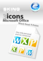 Simple icons for office by skingcito