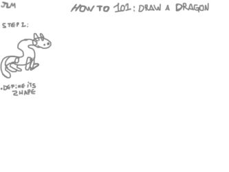 Tutorial 101 : Dragon (with a catch) by Nighteba