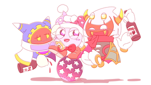 Kirby_Too much drinking by Chivi-chivik