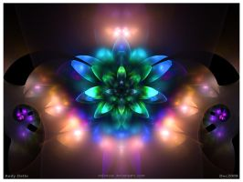 Psychedelic Blossom by psion005