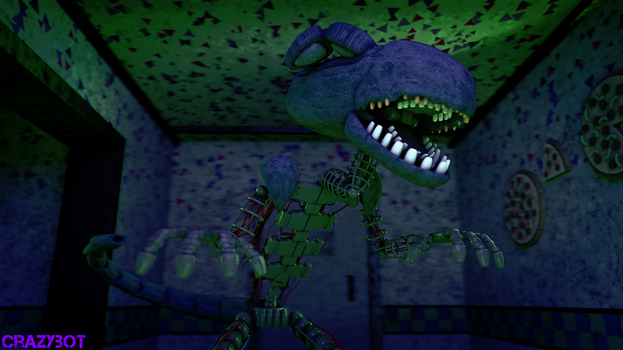 an animatronic alien by crazybot1231