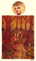 Hansel and Gretel by AngelaRizza