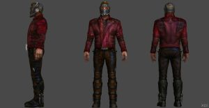 Star Lord AIW FF by SSingh511