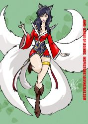 Ahri League of Legends by Inspector97