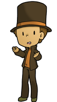 Prof. Layton by Artist-squared