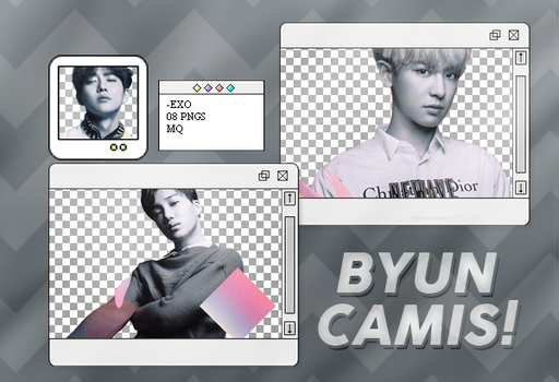 [PNG PACK #247] EXO by ByunCamis