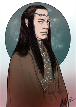 Lord Elrond by MellorianJ