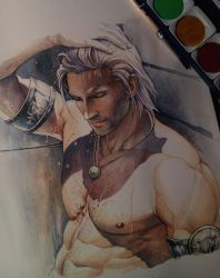Watercolor painting. by aenaluck