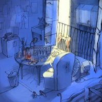 T's room by mohja
