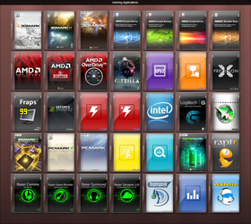 Gaming Applications by GameBoxIcons