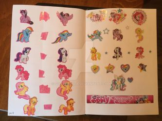 My Little Pony stickers by GothNebula