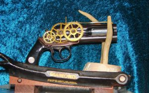 Custom Steampunk Gun by jackscustomsteampunk