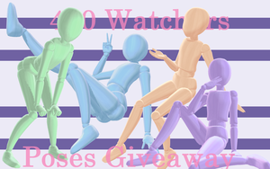 Giveaway Poses Pack  3 by YTNeroK