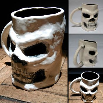 Taza Calavera - Skull Cup by ApeSapiens-Expo