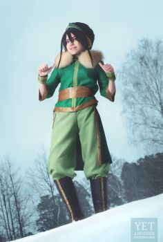 Toph BeiFong - I am here! by TophWei