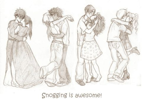 snogging by gerre