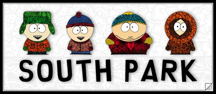 South Park Coloured by bakkeby