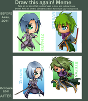 Before and After summer 2011 by ScytheDancer