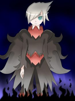 Darkrai Personified by EnaKun110499