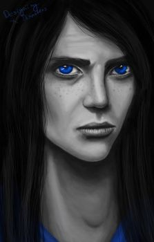 Blue Eyes by designingdisasters
