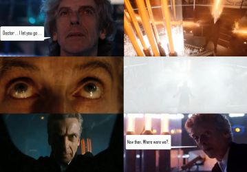 Doctor Who - 12 regenerates into himself by DoctorWhoOne