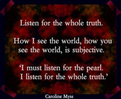 CM Reflection 9-1 Listen for the truth by AmyinWonderlandofOz