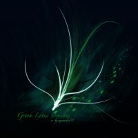 Green Lotus Brushes - PS7 by kabocha