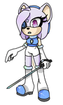 indicolite the hedgehog by city-galaxies