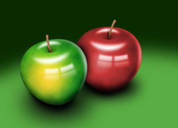Apples by Trial-By-Fire