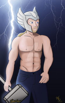 If you like Pina Coladas and sexy Thor in the rain by Icy-Princess